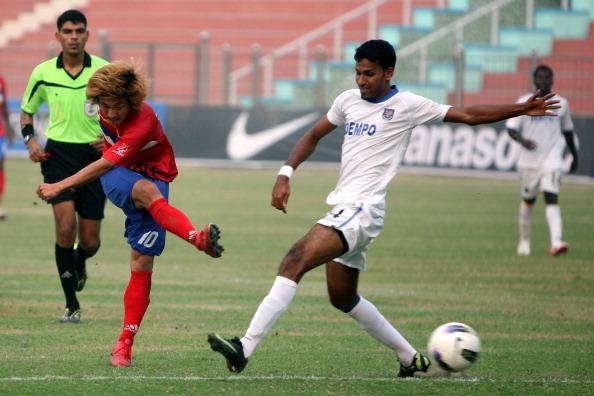ONGC vs Dempo football match
