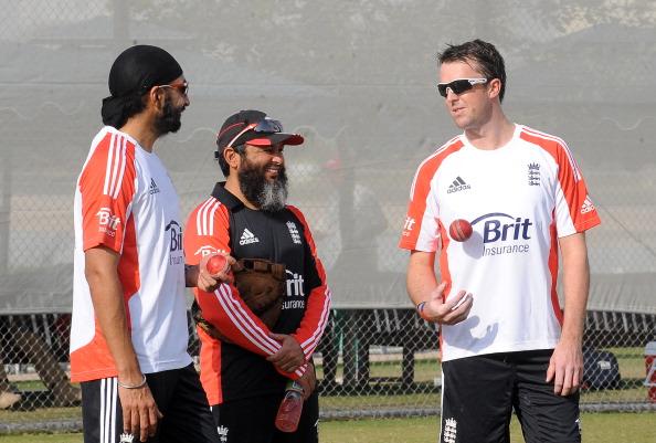 England's spin bowling coach Mushtaq Ahm