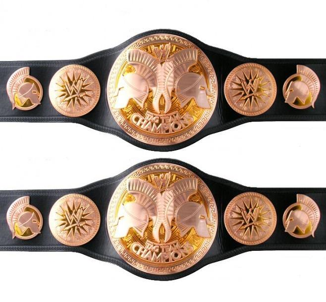 NEWS WWE TAG TEAM CHAMPIONSHIP
