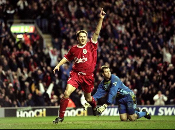 Liverpool v Southampton Michael Owen