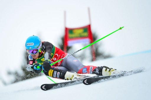 Ted Ligety of the US competes during the FIS World Cup Men's Giant Slalom race in Kranjska Gora, on March 9, 2013