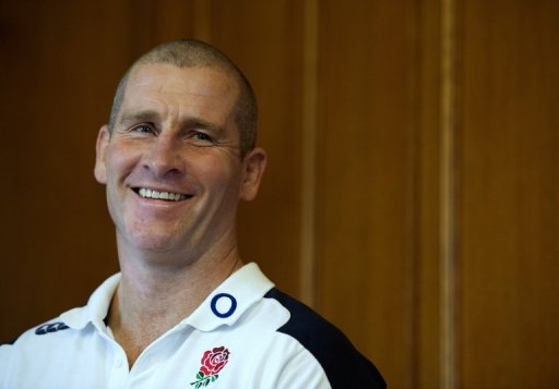 England's coach Stuart Lancaster, pictured at the team's training base in Bagshot, south-east England, on March 8, 2013