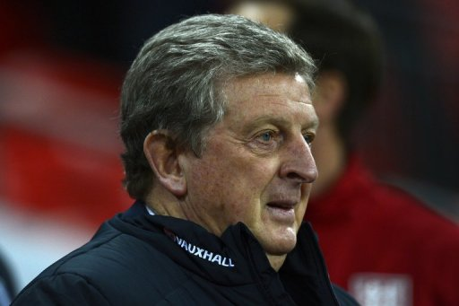 England's manager Roy Hodgson is pictured at Wembley Stadium in north London on February 6, 2013