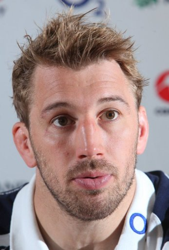 England's captain, Chris Robshaw, pictured in Cardiff, on March 15, 2013