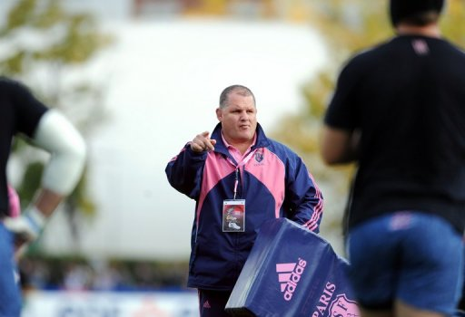 Ewen McKenzie pictured on October 18, 2008, when he was in charge of Stade Francais