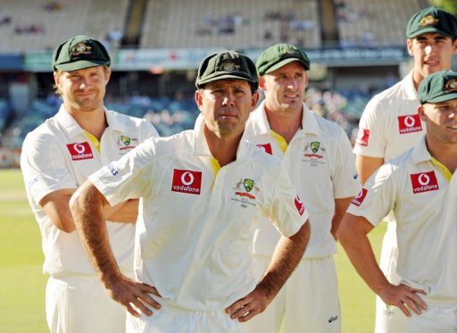 Ricky Ponting following the third Test against South Africa on December 3, 2012