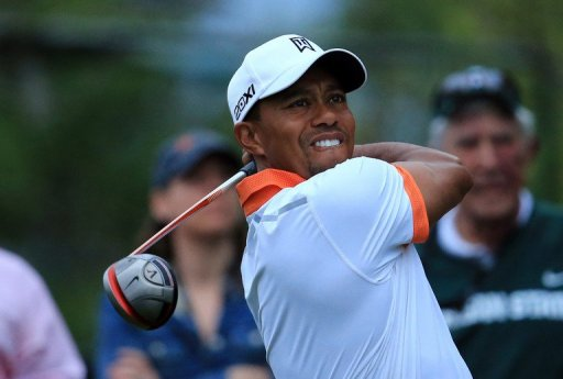 Tiger Woods plays during the pro-am at Bay Hill Golf and Country Club on March 20, 2013 in Orlando, Florida