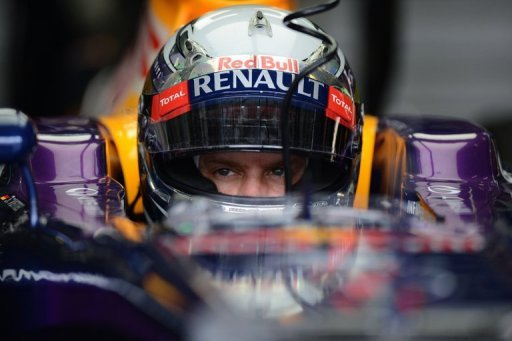 Defending F1 world champion Sebastian Vettel pictured in Sepang, Malaysia, on March 23, 2013