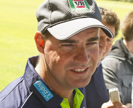Australia coach Mickey Arthur holds a media conference in Perth on March 26, 2013