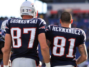 Tight Ends Rob Gronkowski and Aaron Hernandez have brought about yet another identity change in New England