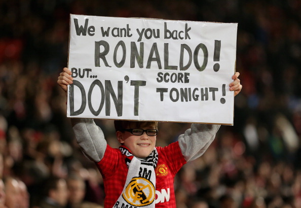 Manchester United v Real Madrid - UEFA Champions League Round of 16