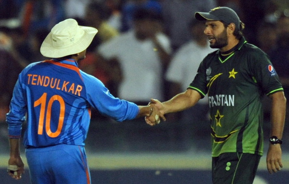 The Tendulkar-Afridi trophy is clearly not a good idea