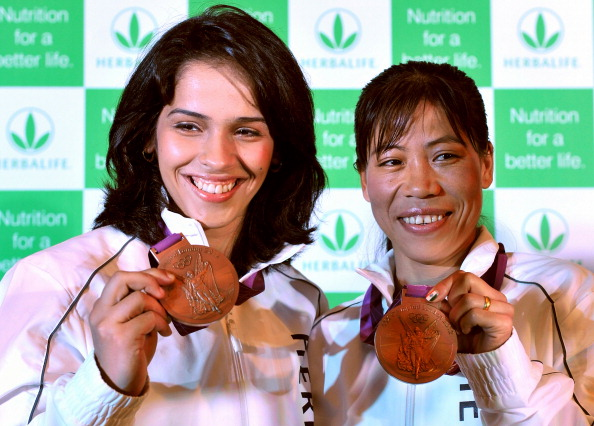 Saina Nehwal and Mary Kom - the pride of a nation.