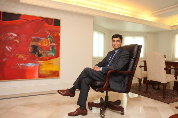 Sajjan Jindal,Vice Chairman and Managing Director of JSW Steel, poses at office, in Mumbai, india, Profile