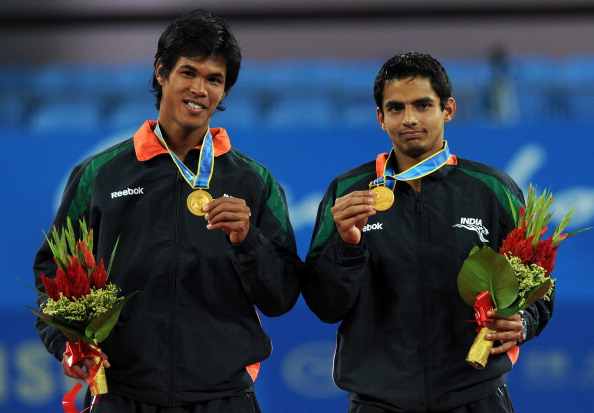 Somdev Devvarman and Sanam Singh