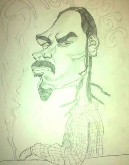 Hip hop star Snoop Dogg