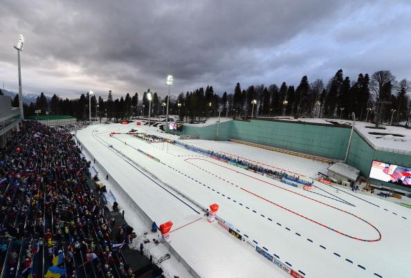 E. ON IBU Biathlon World Cup - Sochi
