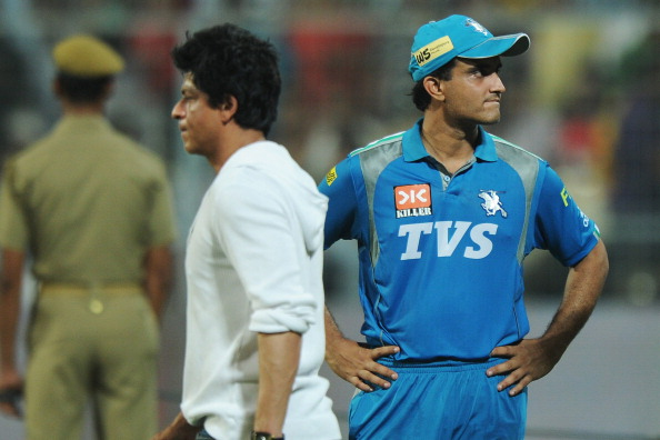 Pune Warriors India captain Sourav Gangu