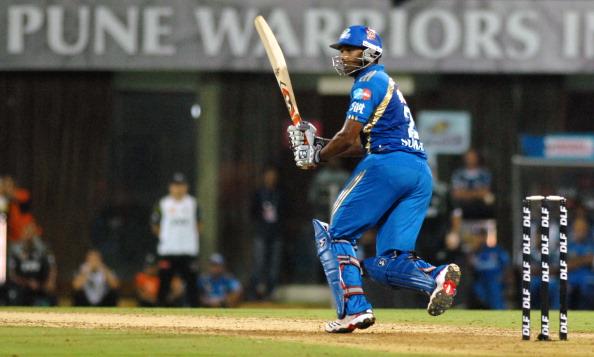 IPL Twenty20 match between Mumbai Indians and Pune Warriors India