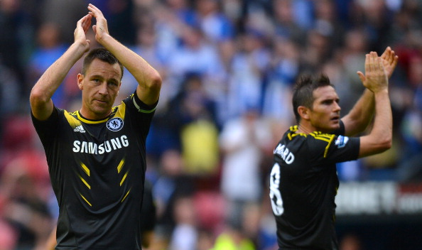 John Terry and Frank Lampard - not supporting the manager?