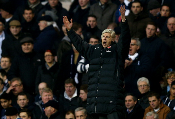 Another frustrating evening for Arsène Wenger