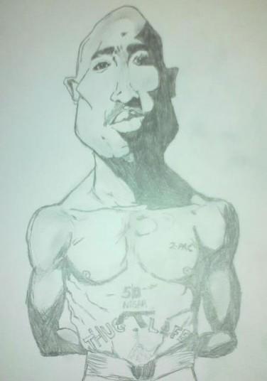 Hip hop legend, the late Tupac Shakur