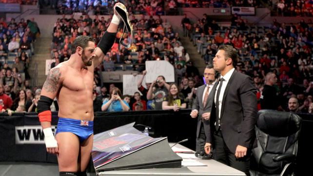 Wade Barrett will put his Intercontinental Championship on the line against The Miz at Wrestlemania 29