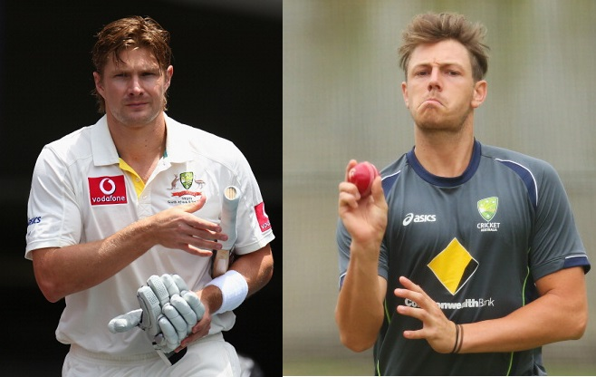 Shane Watson and James Pattinson - two of Australia's key players have been sacked