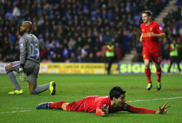 Wigan Athletic v Liverpool - Premier League