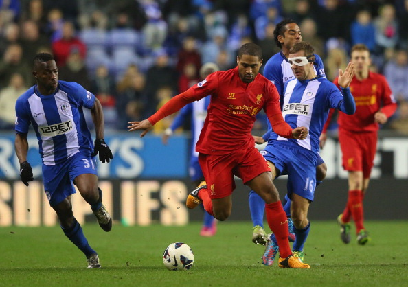 Wigan Athletic v Liverpool - Premier League