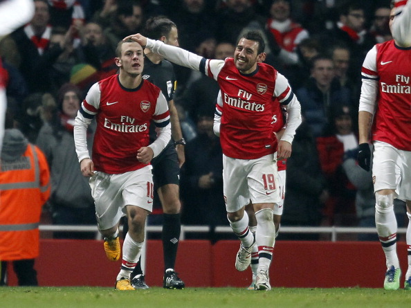 Jack Wilshere and Santi Cazorla - a perfect balance of local and international talent