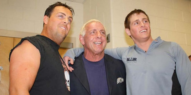 WWE_Ric Flair_with son