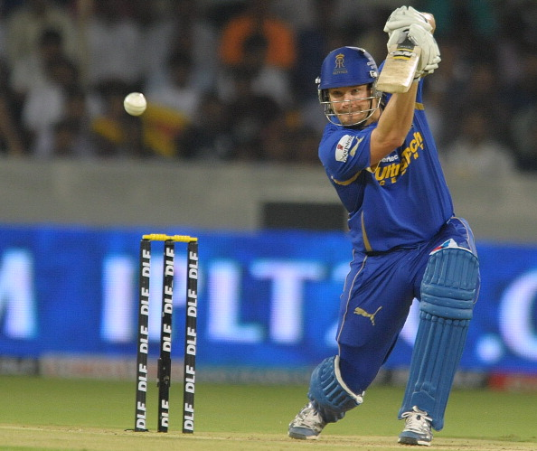 Rajasthan Royals batsman Shane Watson pl
