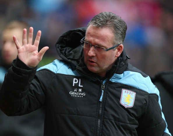 Paul Lambert of Aston Villa is seen before the Barclays Premier League match between Aston Villa and Southampton at Villa Park on January 12, 2013 in Birmingham, England.  (Photo by Clive Mason/Getty Imag
