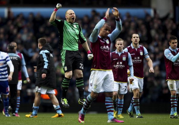 Aston Villa v Queens Park Rangers - Barclays Premiership