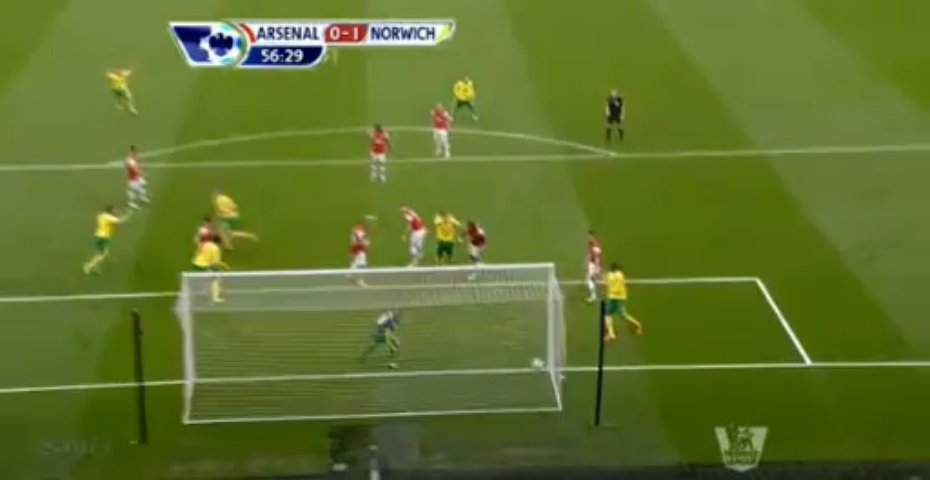 GIF: Jack Wilshere Scores Against Norwich City Gifrific