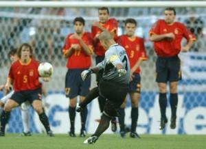 chilavert free kick