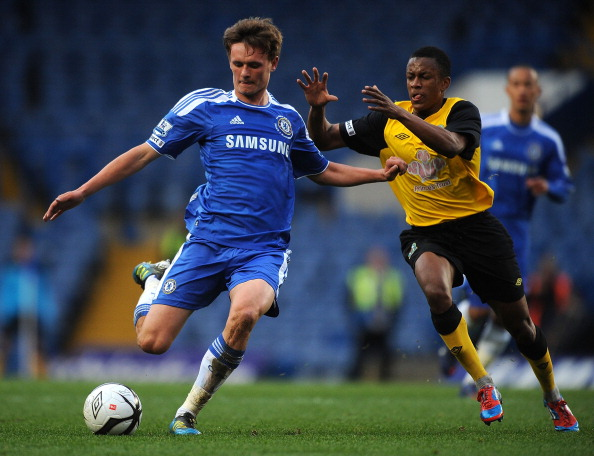 Chelsea v Blackburn Rovers - FA Youth Cup Final 1st Leg