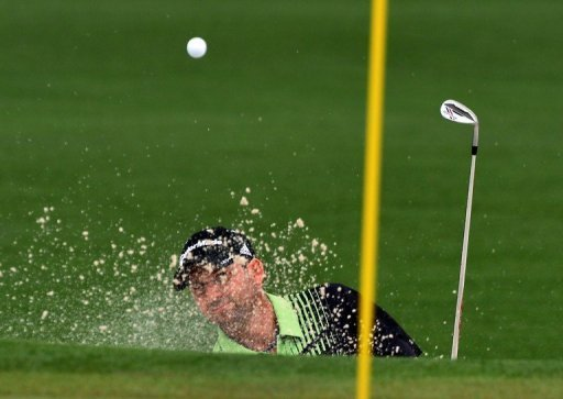 Sergio Garcia hits the ball during the first round of the 77th Masters on April 11, 2013 in Augusta