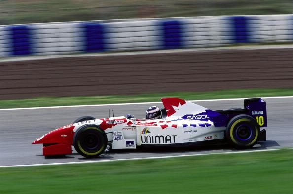 Taki Inoue, Footwork-Hart FA16 , Barcelona, Spain, 1995