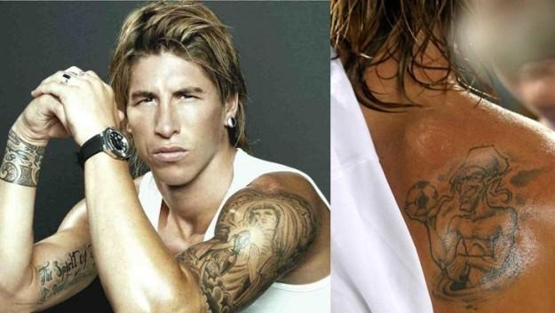 #2 football team of tattooed players