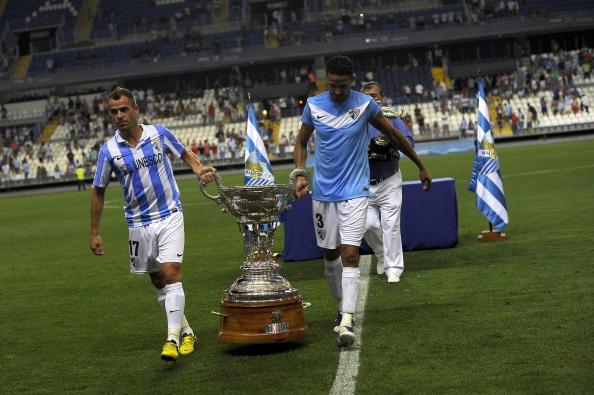Malagas Portuguese Midfielder Duda L