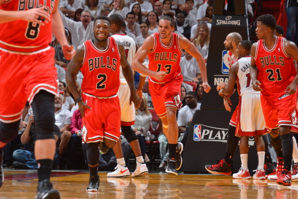 6e0c7da47fa7 Nate Robinson  2 of the Chicago Bulls smiles in Game Five of the Eastern  Conference