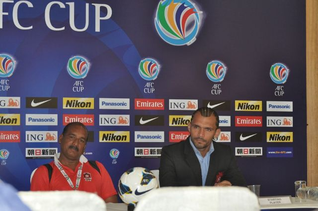 Beto's AFC Cup dream (Photo Credit: Churchill Brothers Media)
