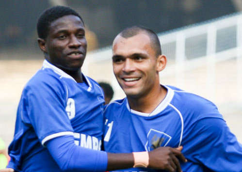 Ranti Martins (left) and Beto were the key men in Dempo's success