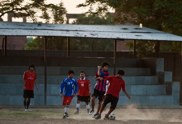To go with focus story Fbl-WC2010-IND by
