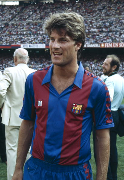 Michael Laudrup Legends of Club Football Michael Laudrup