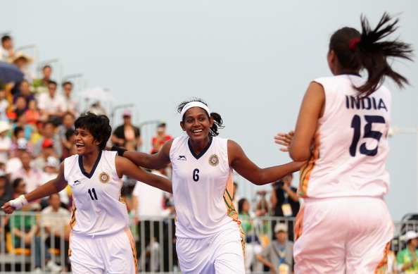 3rd Asian Beach Games: Beach Basketball Day 3