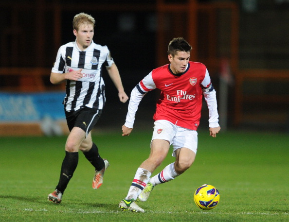 Arsenal v Newcastle United - FA Youth Cup 3rd Round