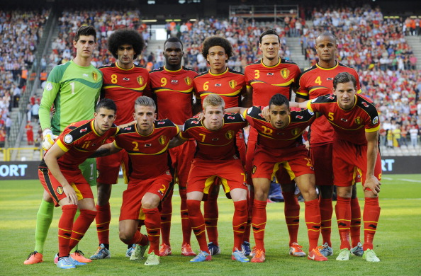Equipa da Belgica foi das primeiras equipas a conseguir o apuramento
